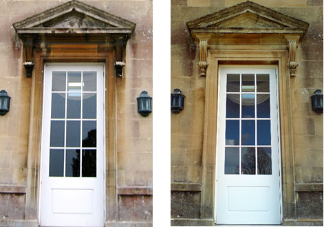 doorways at Bath spa university