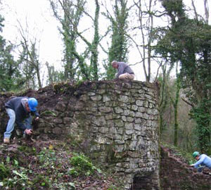 lime kiln repairs in vallis somerset by minerva
