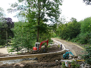 prior park lake reconstruction