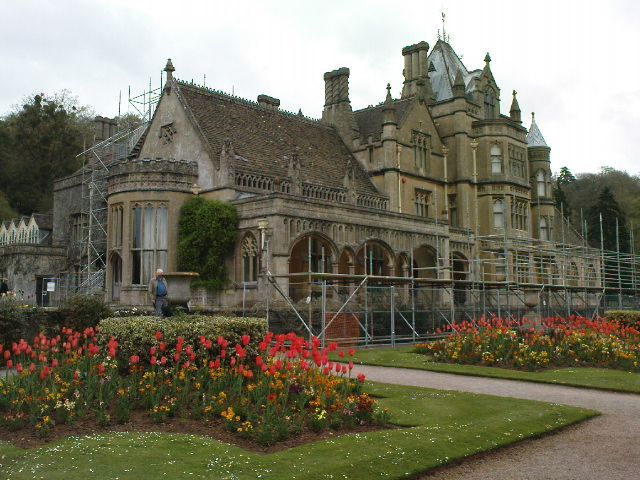 Minerva Working At Tyntesfield House Near Bristol On