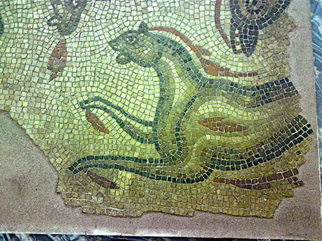 roman mosaic after restoration by Minerva conservation